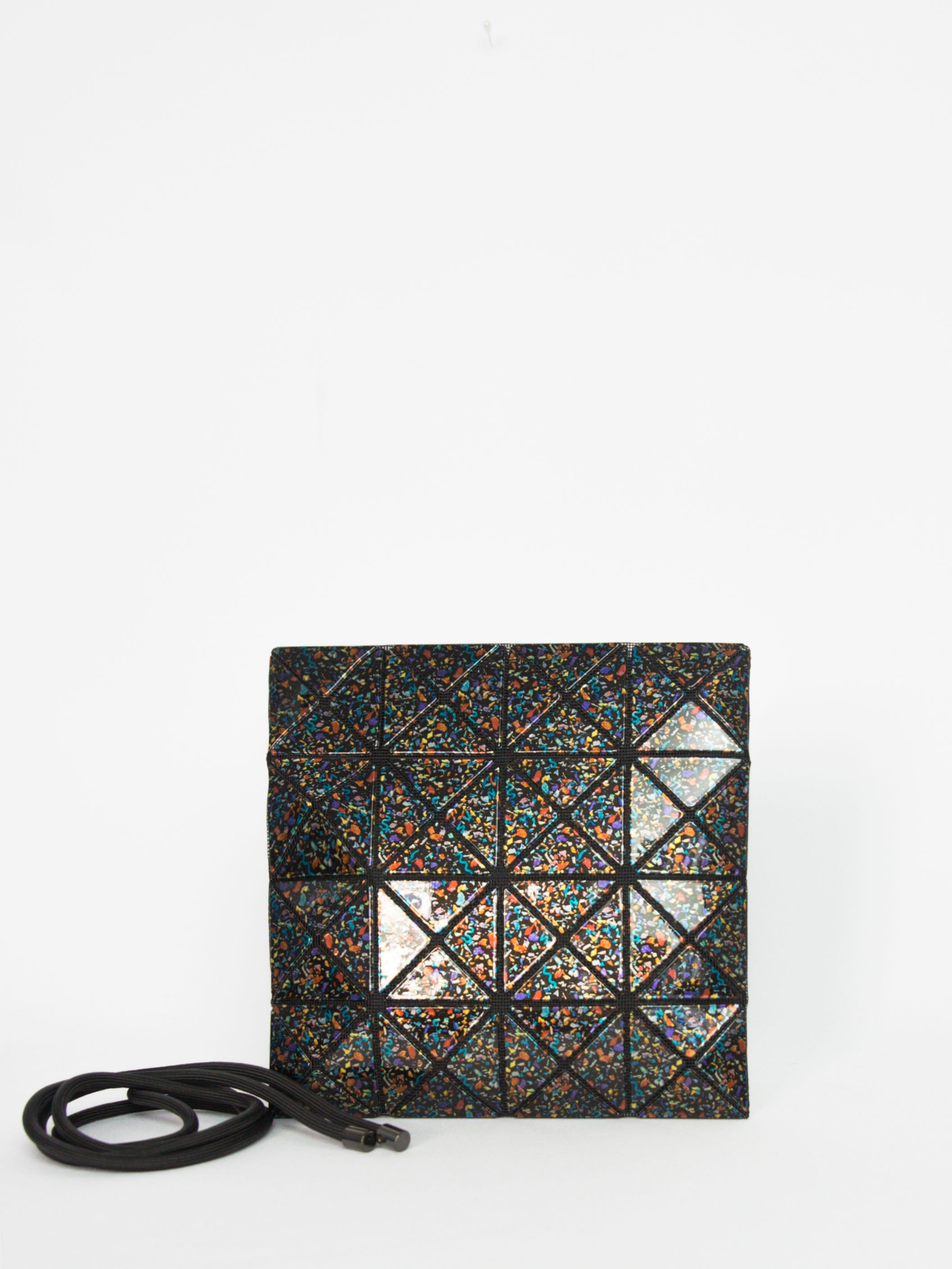 Stone Crossbody Bag - Black Mix