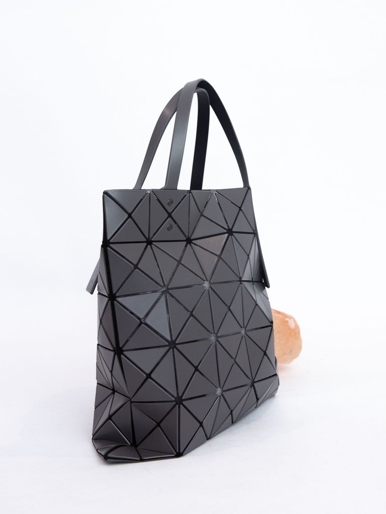 Lucent Matte Tote Bag - Charcoal Gray