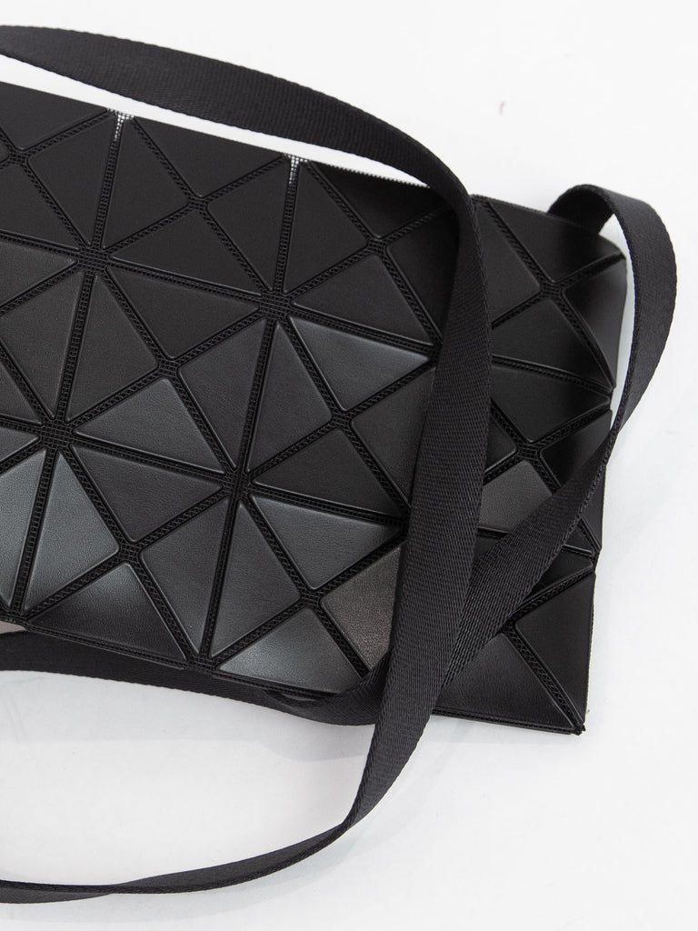 Lucent Matte Crossbody Bag - Matte Black