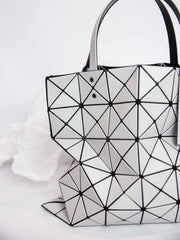 Lucent Matte Tote Bag - Light Gray