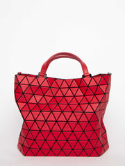 Crystal Matte Shoulder Bag - Red