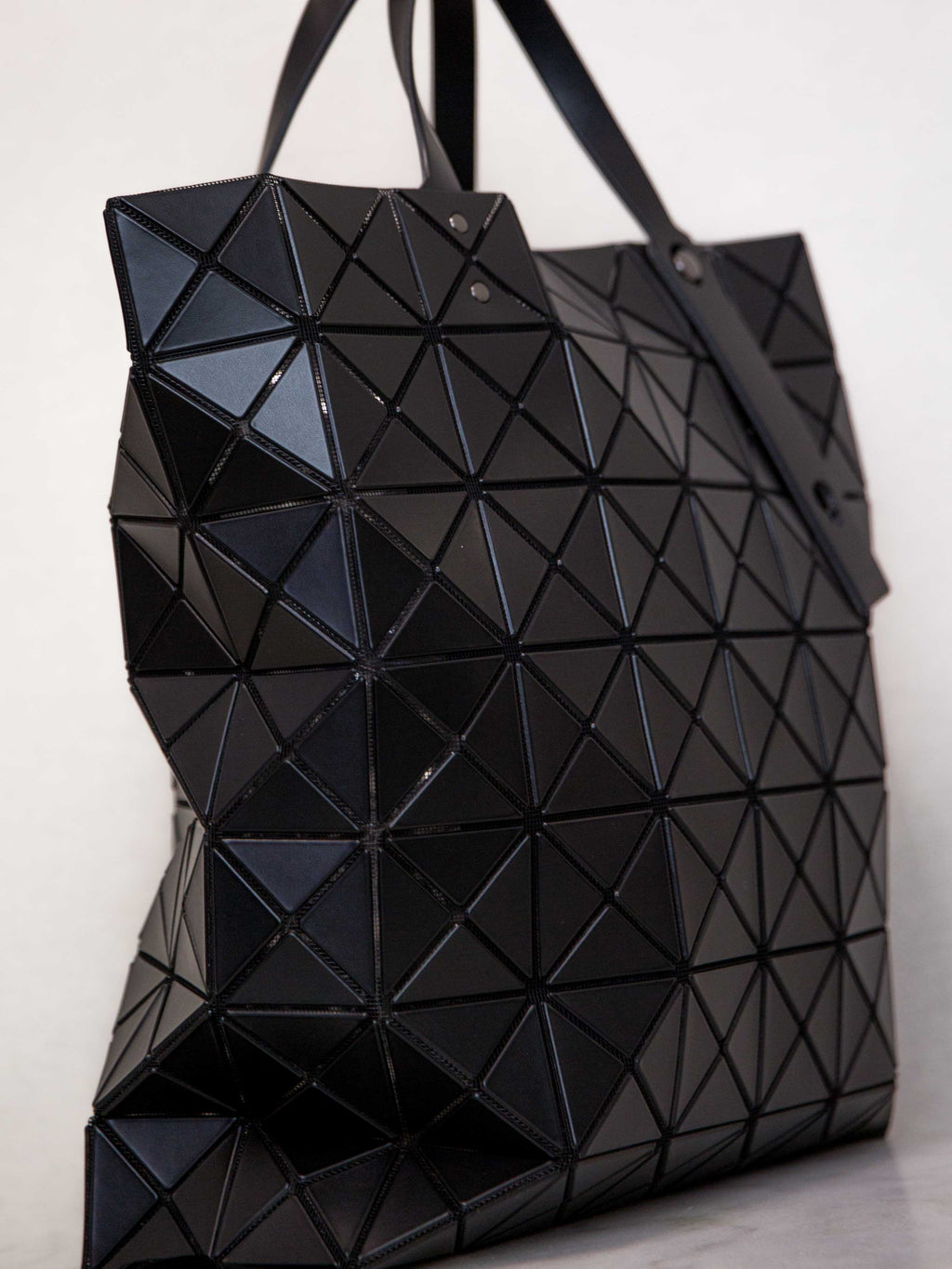 343a1c62fa5b ... BAO BAO ISSEY MIYAKE Lucent Matte Oversized Tote Bag - Black