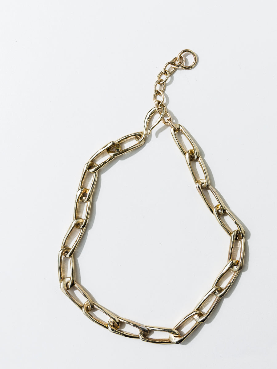 Classic Chain Collar - Bronze