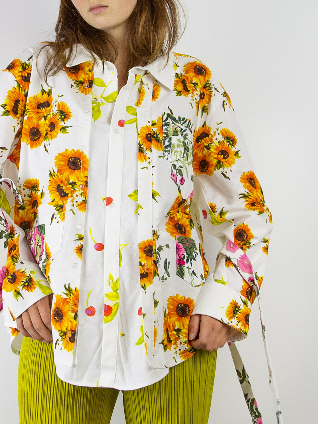 Kantamanto Button Up - Floral