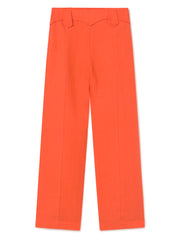 Dolar Linen Trousers - Red
