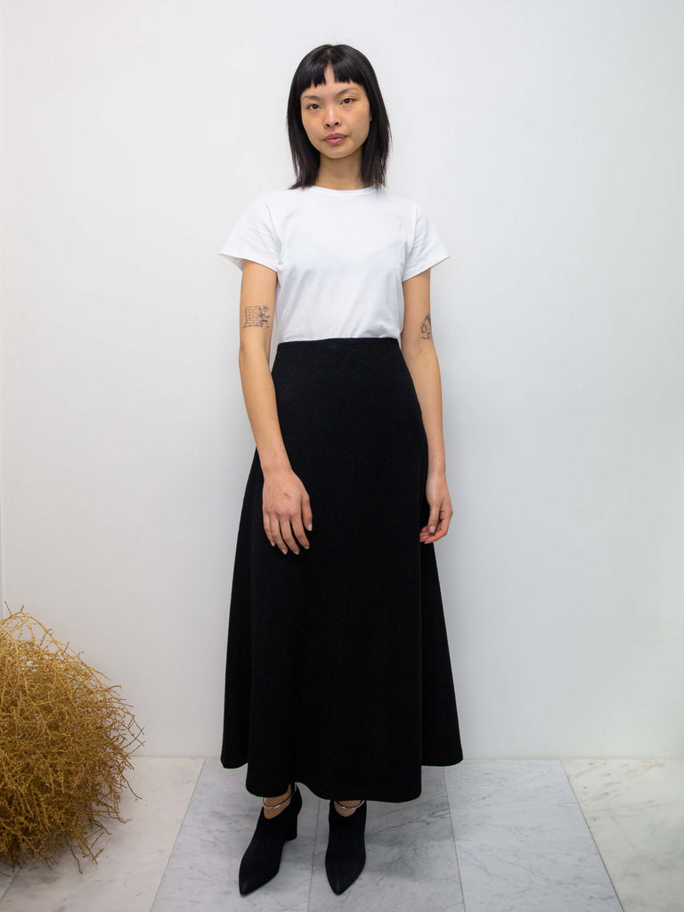 DRESS UP Maxi Leisure Skirt - Black