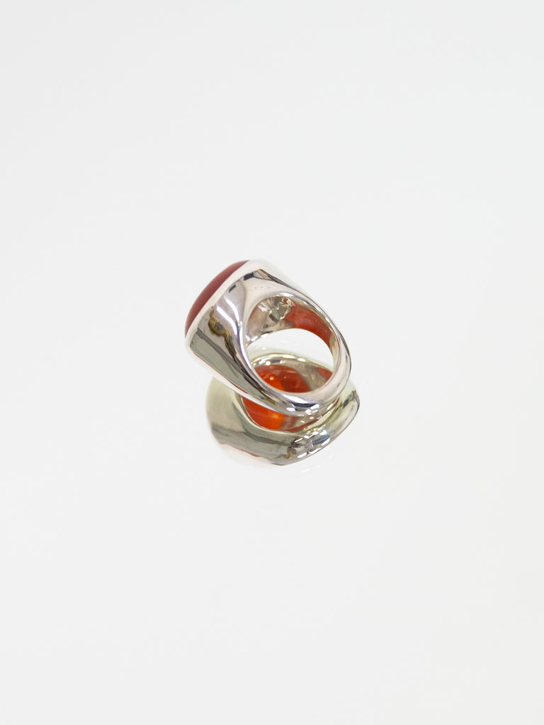 FARIS BAM Ring - Carnelian - Sterling Silver