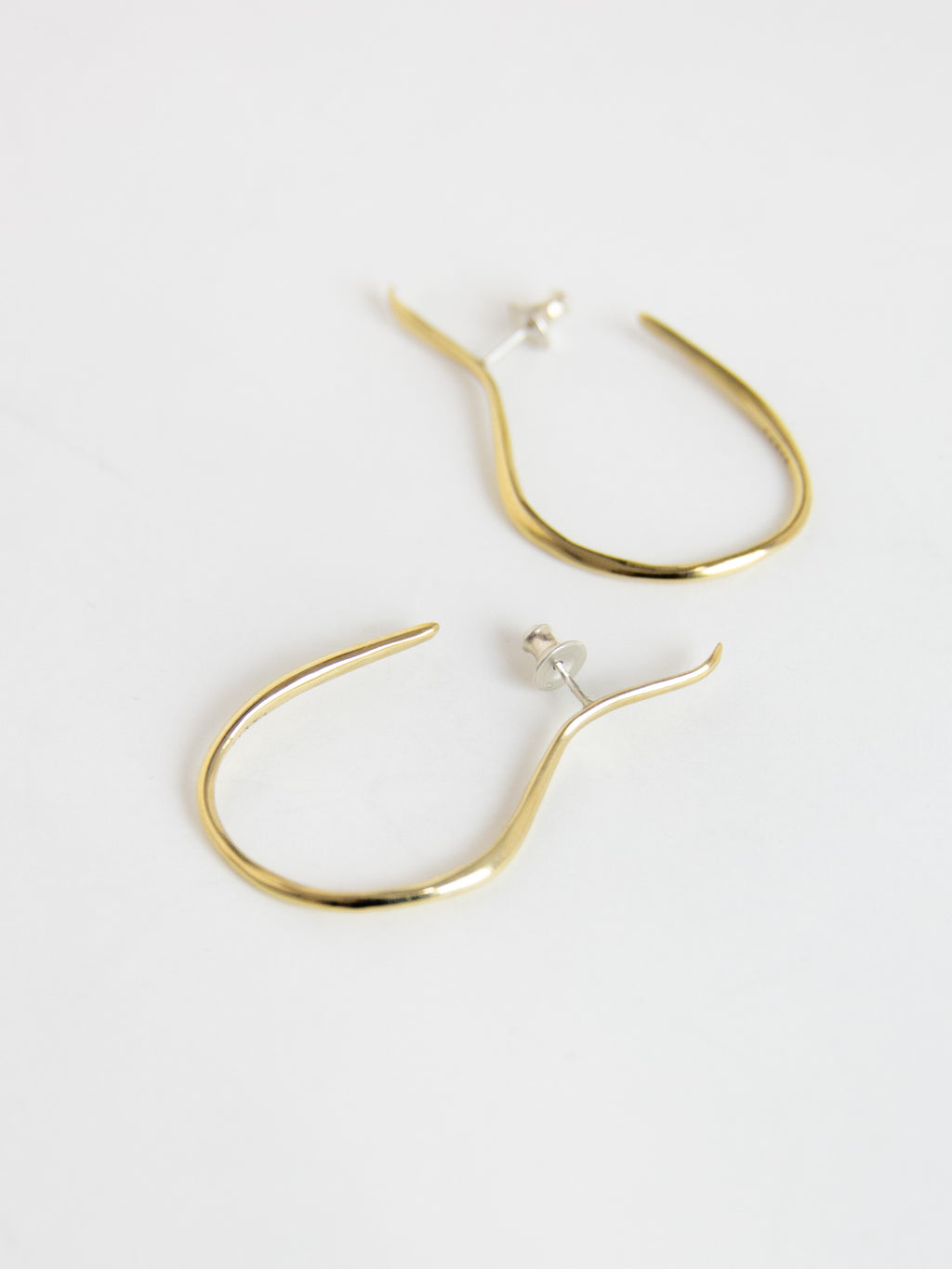 FARIS VINEA HOOK Earrings - Bronze