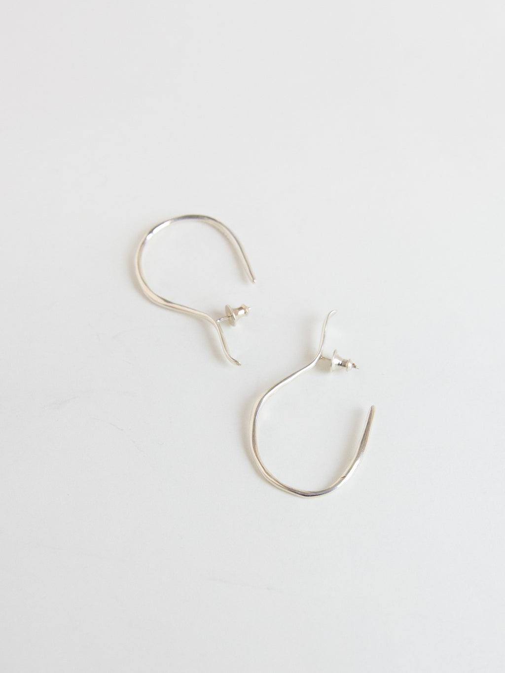 FARIS VINEA HOOK Earrings - Sterling Silver
