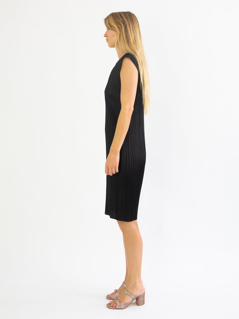 Basics Tunic Dress - Black
