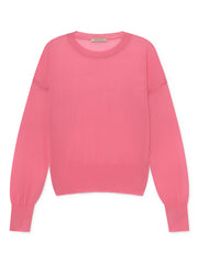 Leds See-through Sweater - Fuchsia