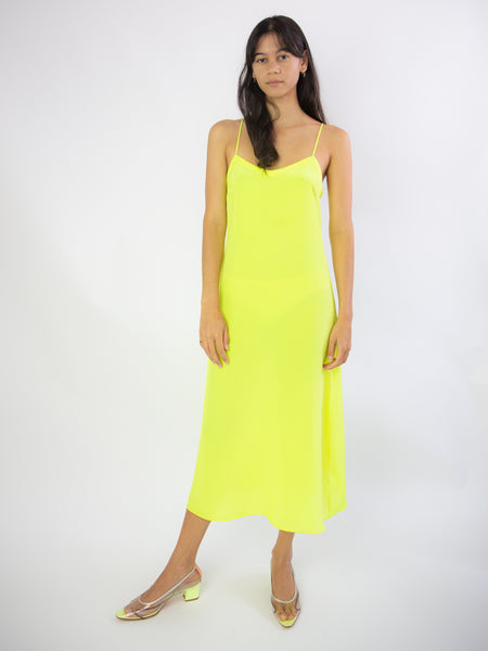 MARYAM NASSIR ZADEH Dew Dress - Citrus