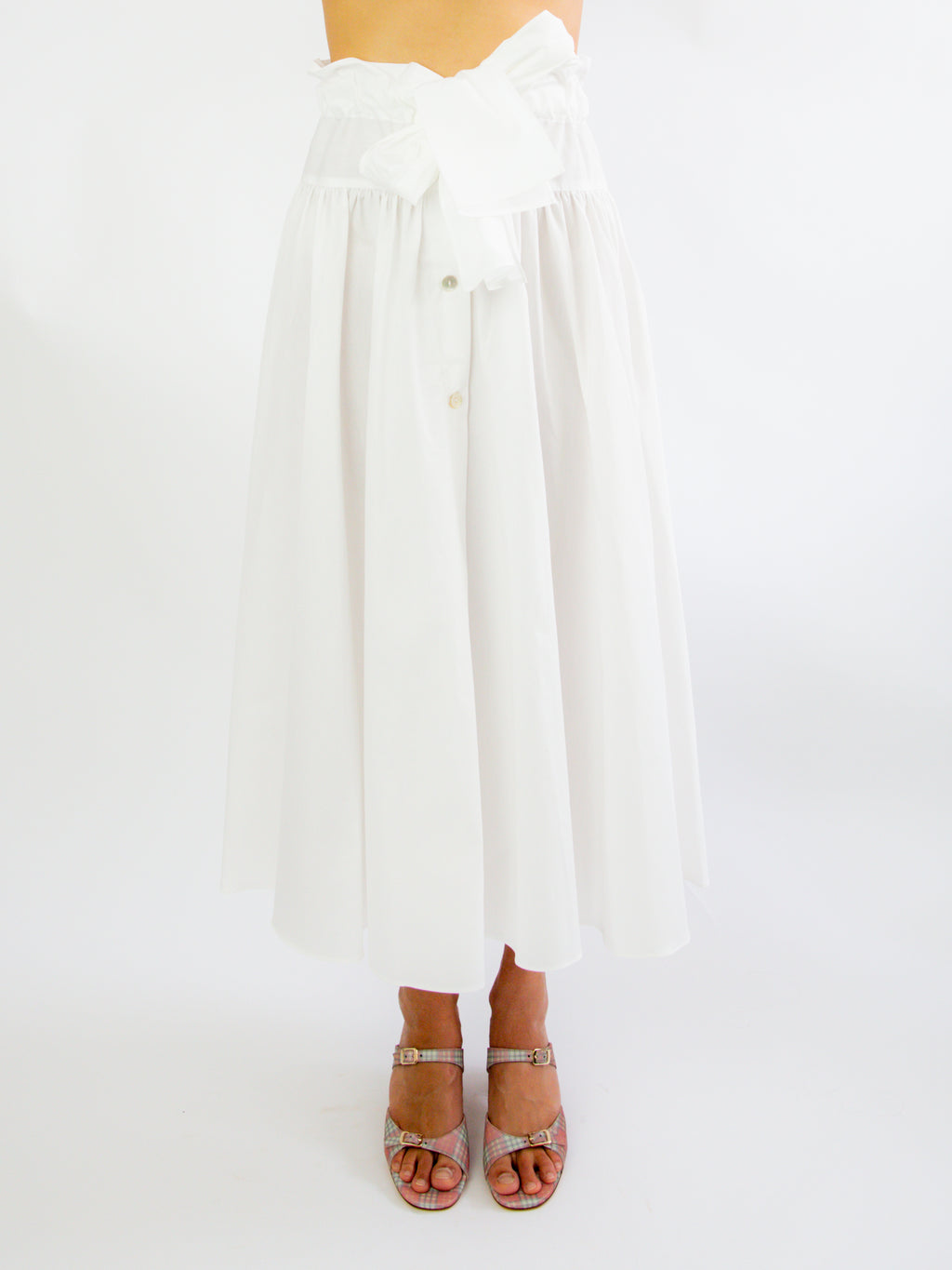 Carlita Skirt - White