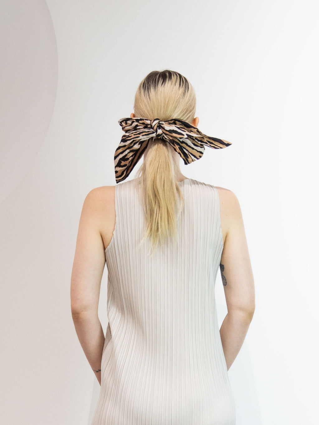 Meadow Hair Sash - Leopard