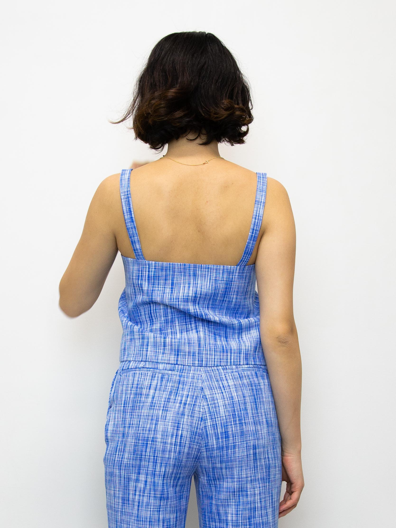 MARYAM NASSIR ZADEH Polaris Basketweave Top
