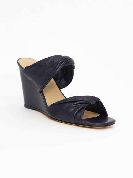 MARYAM NASSIR ZADEH Carine Knotted Wedge - Night