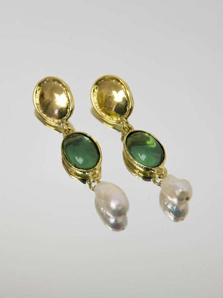 MONDO MONDO Sirena Earrings - Green