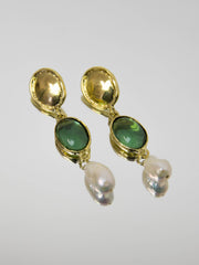 Sirena Earrings - Green