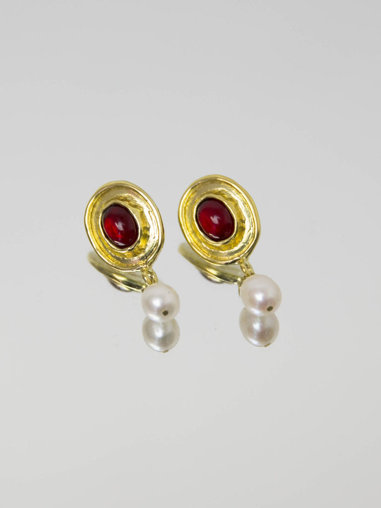 MONDO MONDO Viva Earrings - Red