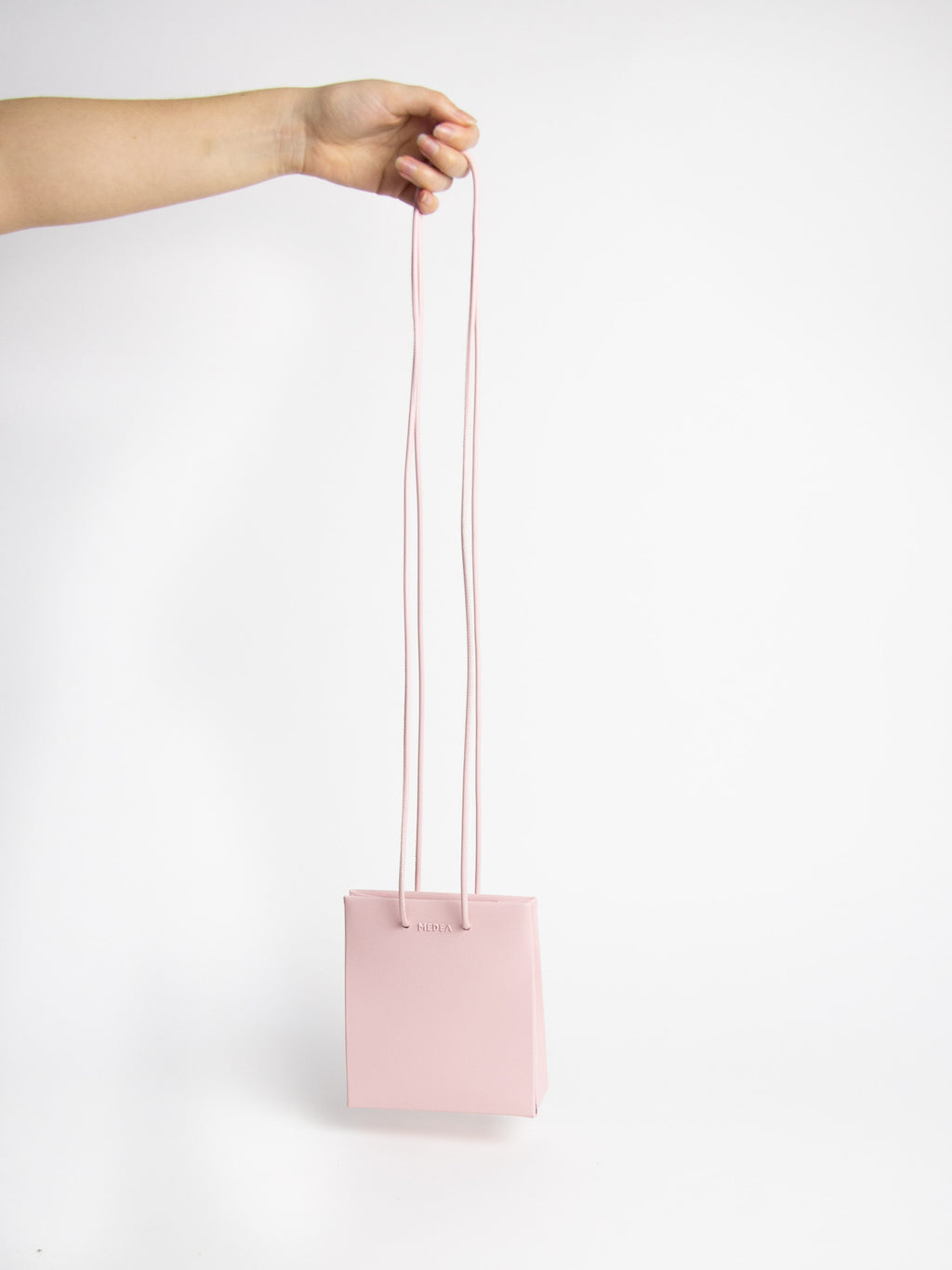 Short Long Strap Bag - Rose Pink
