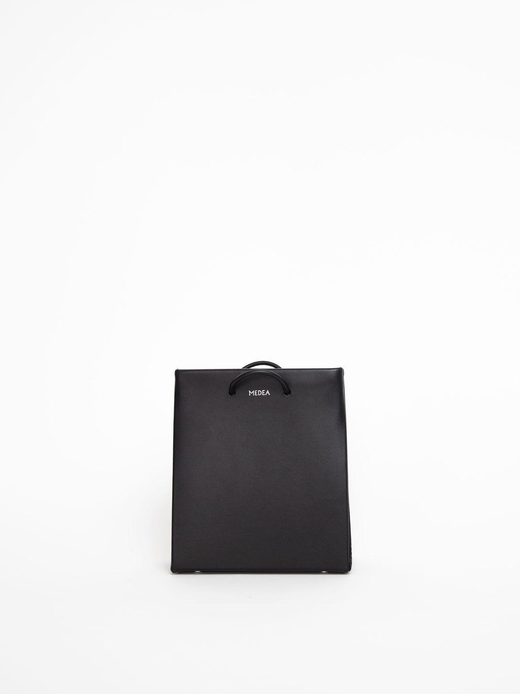 Short Long Strap Bag - Black
