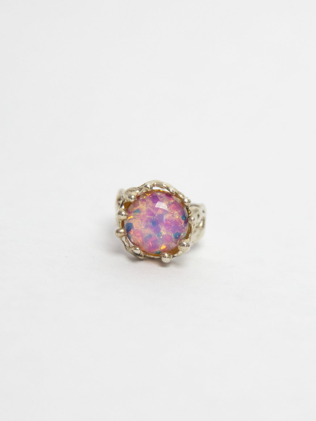 Magicial Ring - Pink Opal
