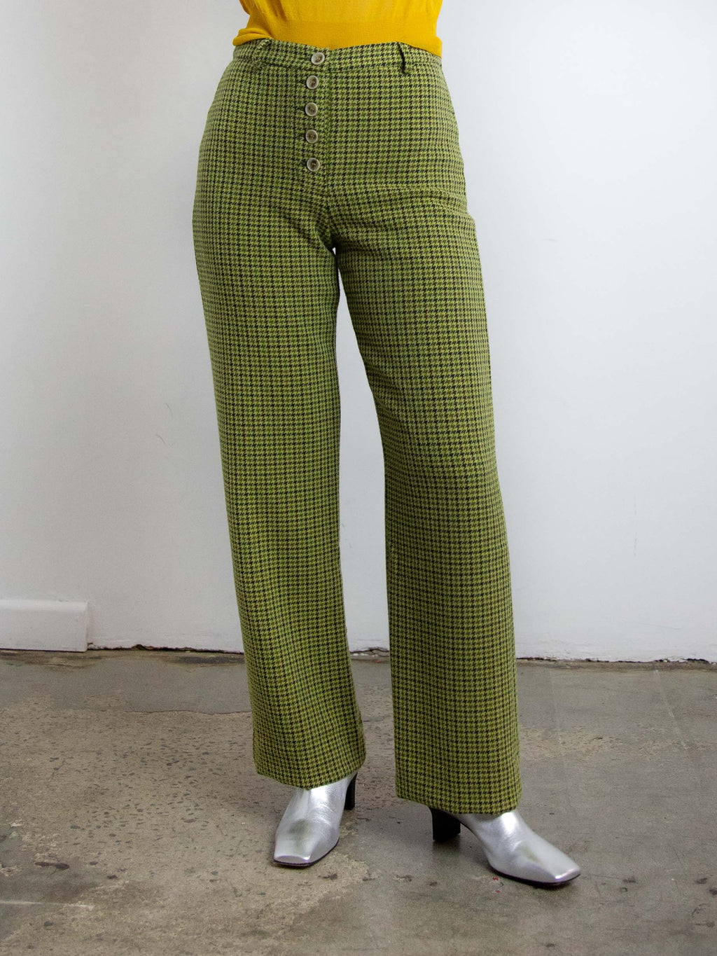 Castelbuon Pants - Green Olive