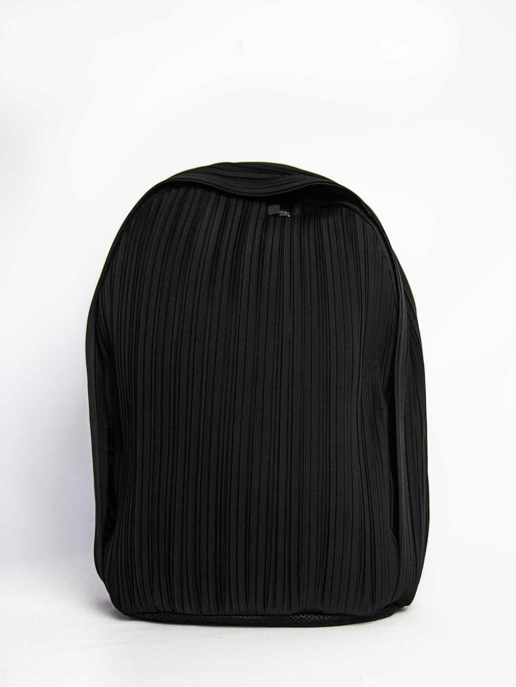 Pleats Backpack - Black