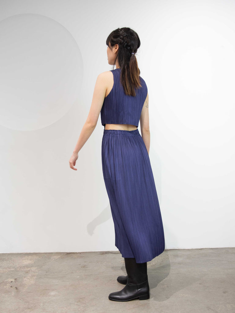 Monthly Colours May 2 Open Back Dress - Navy