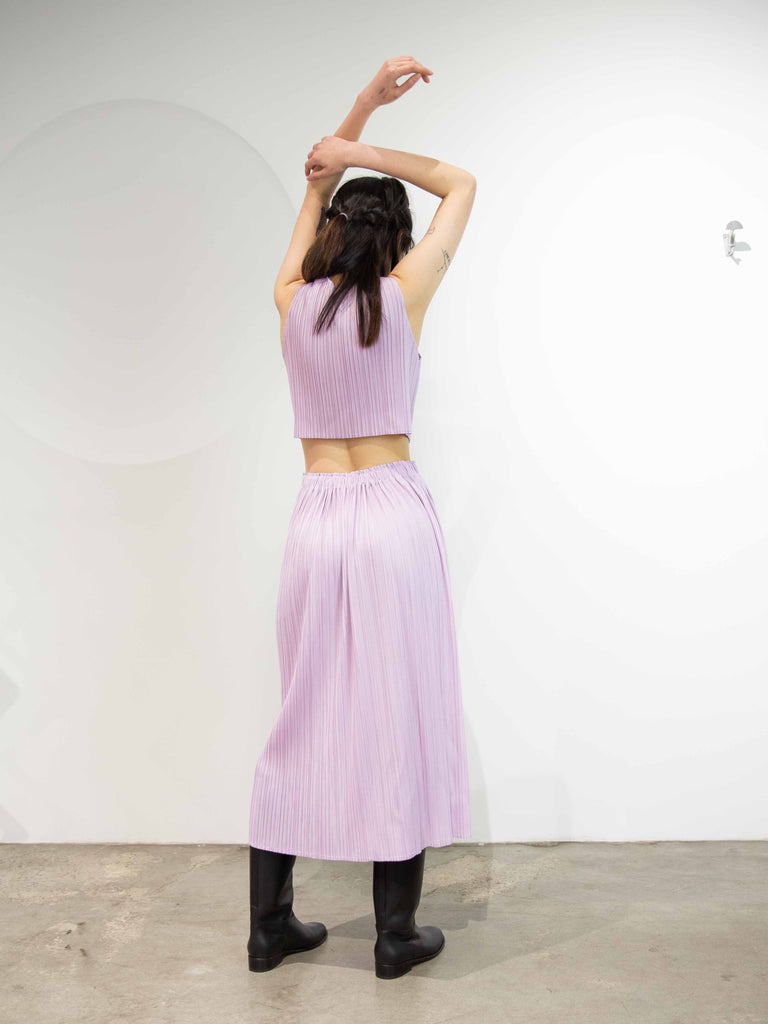Monthly Colours May 2 Open Back Dress - Pale Pink