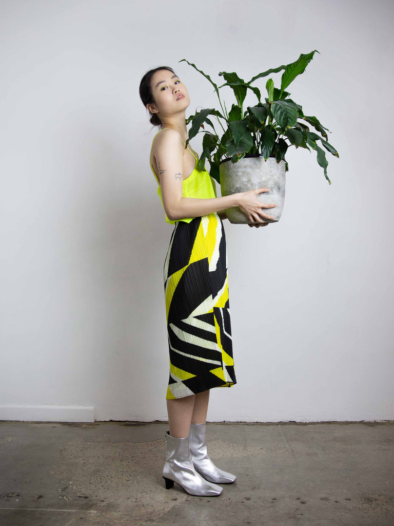 Motion Skirt - Yellow