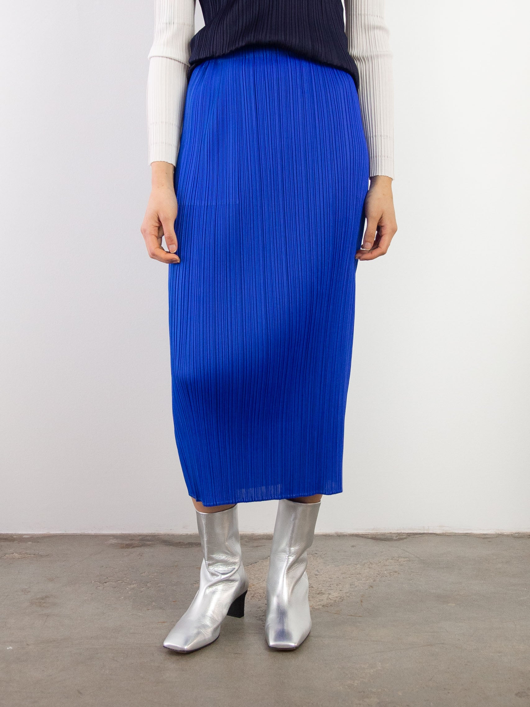 New Colourful Basics II Skirt - Blue