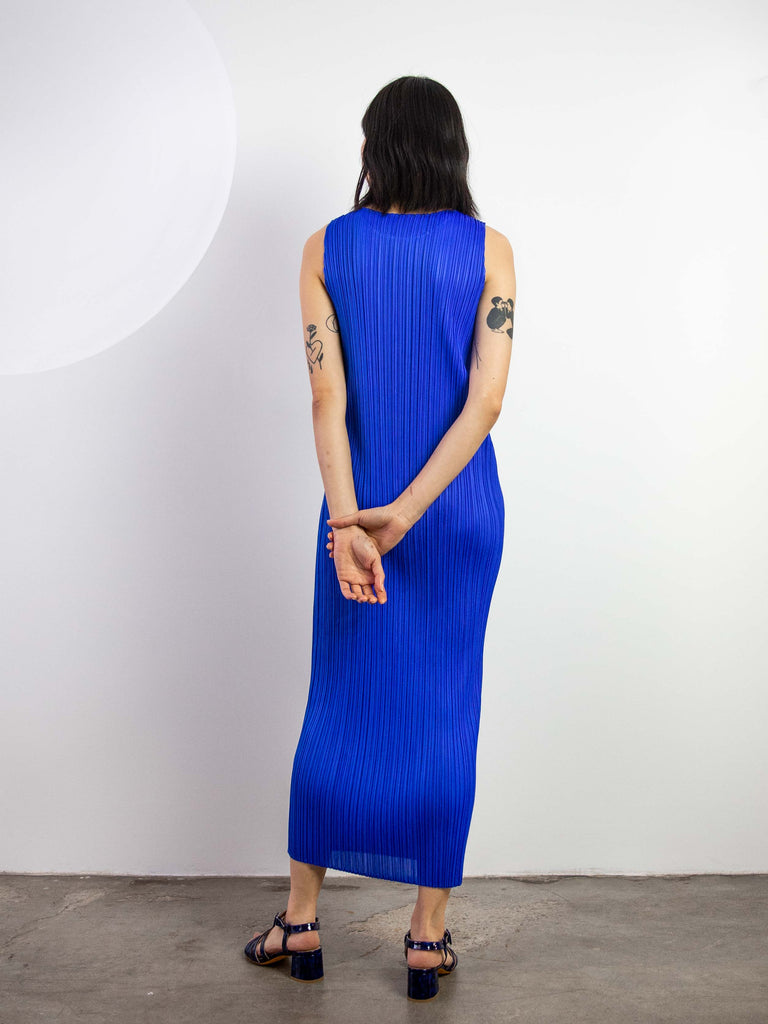 New Colourful Basics II Tank Dress - Blue