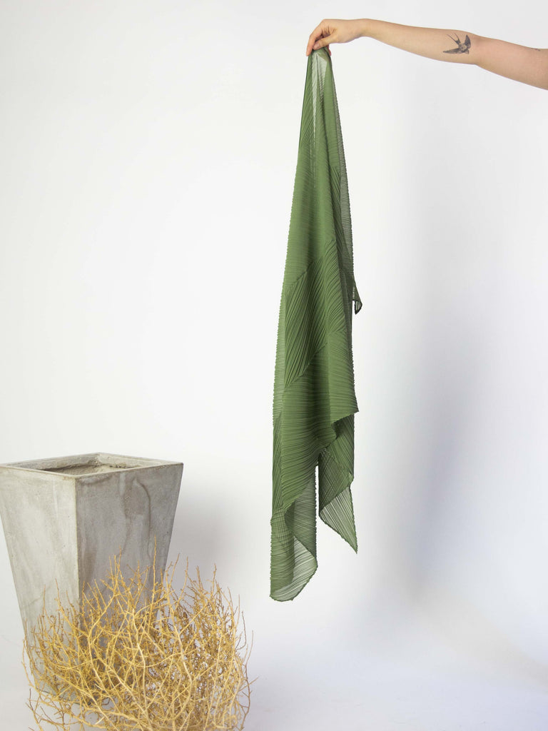 Colourful Scarf - Khaki