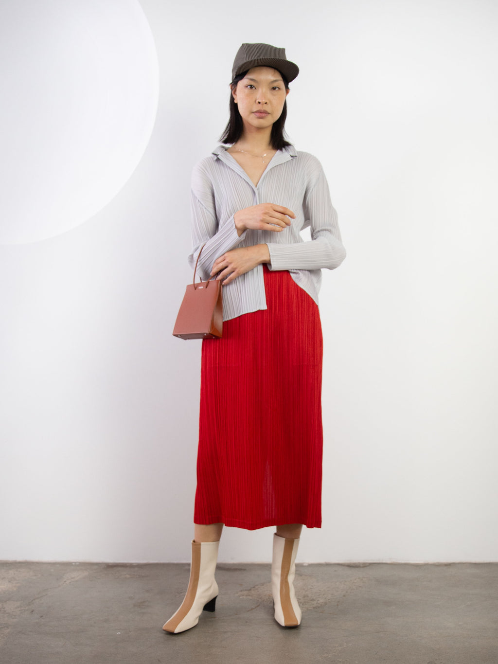 Thicker Bottoms II Skirt - Red
