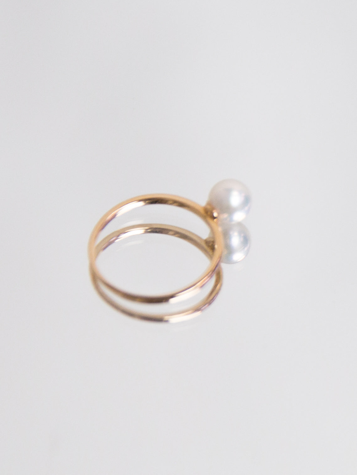 SPHERE Akoya Classic Ring - Rose Gold