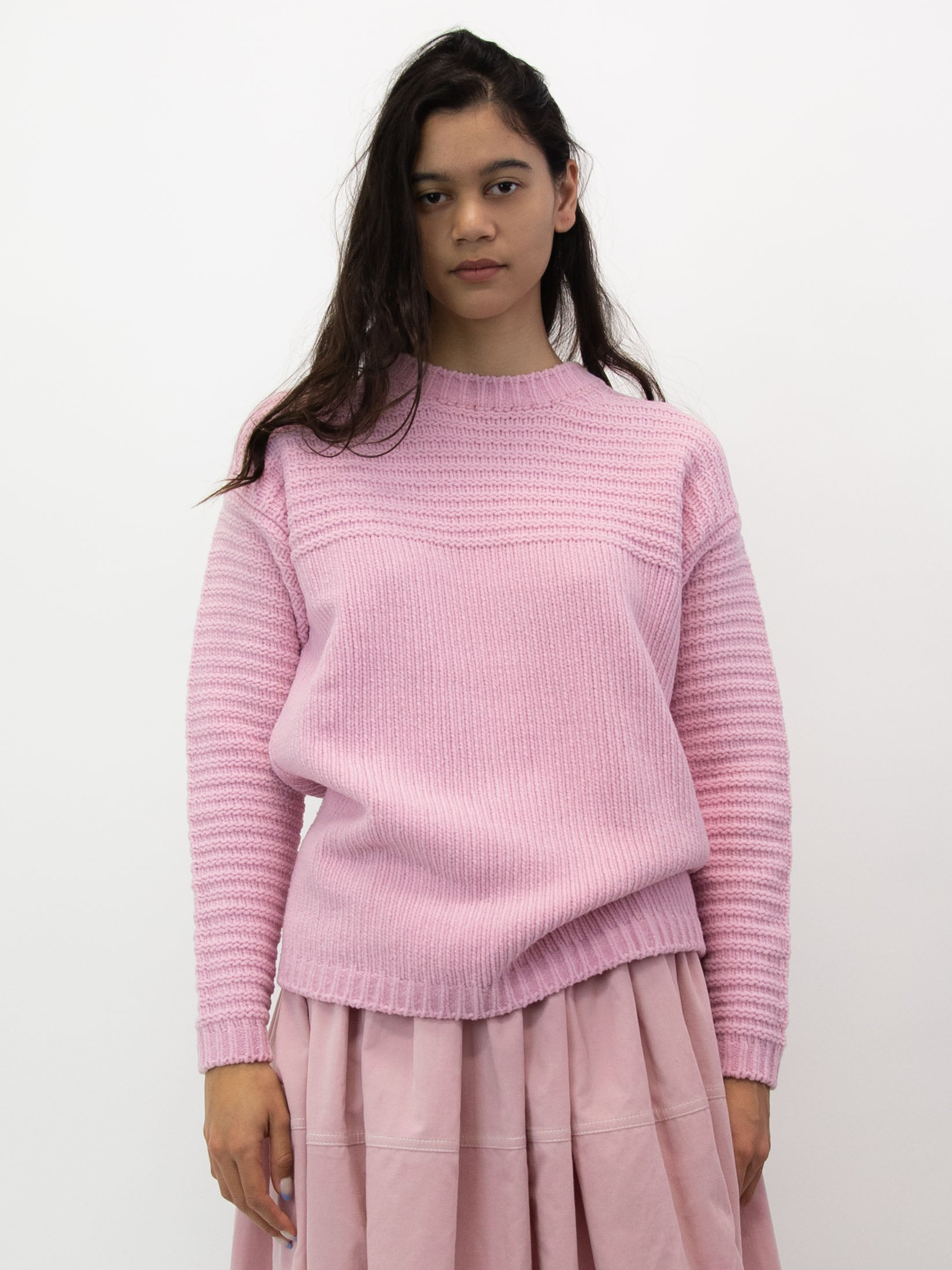 Knitted Jumper - Pink
