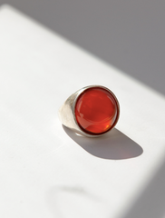 Bam Ring - Carnelian - Sterling Silver