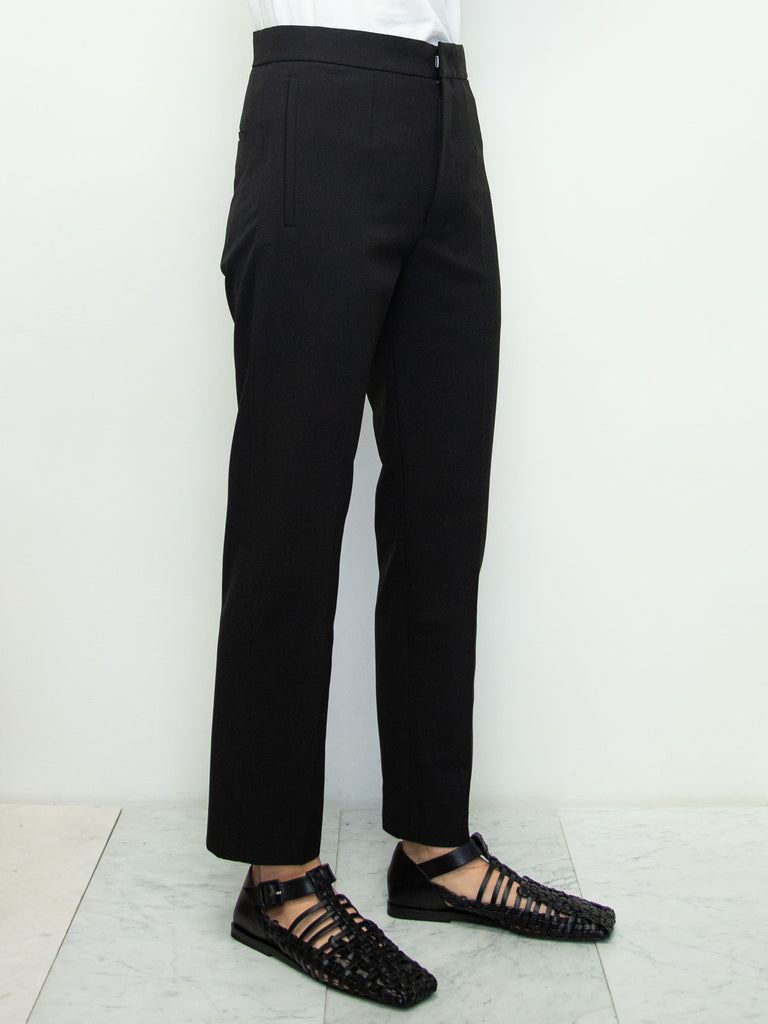 Y's Center Press Tailored Pant