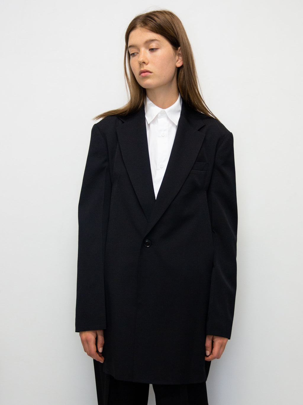 Y's Back Belt Wool Jacket