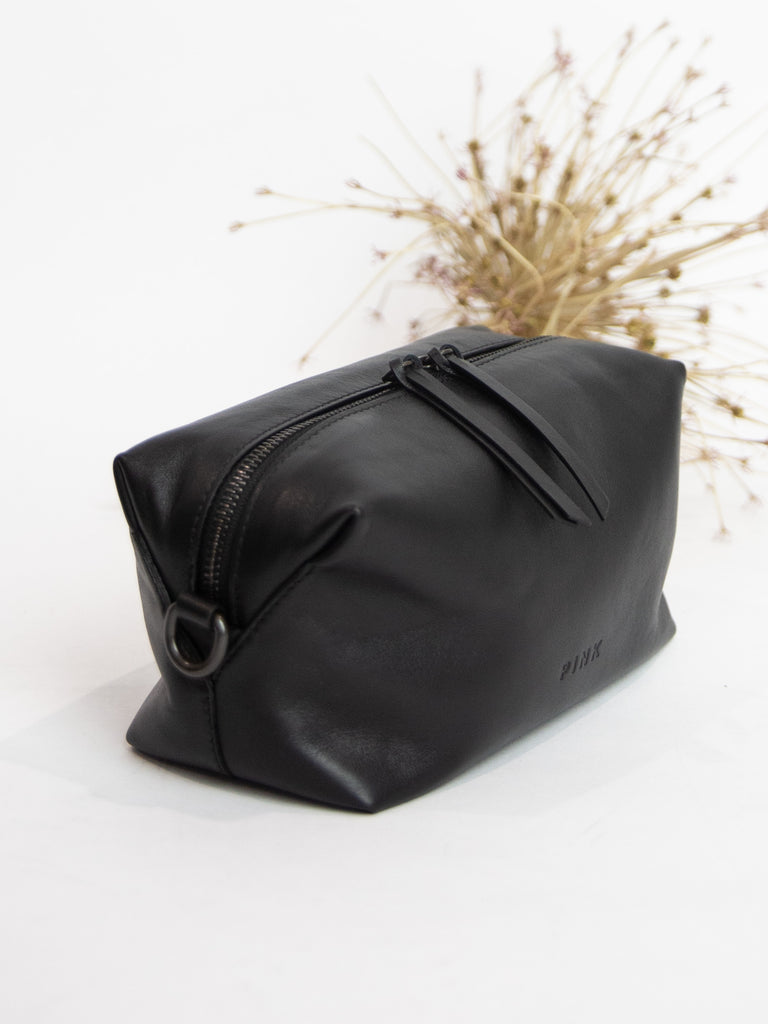 Thick Strap Box Bag - Black