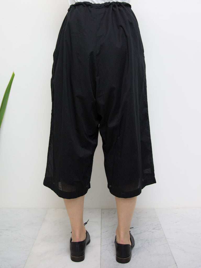 Y'S 3/4 Length Drawstring Pants