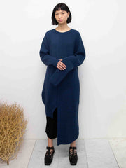 Central Panel Knitted Dress