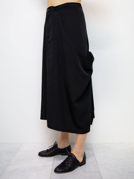 Y'S Long Pocket Skirt
