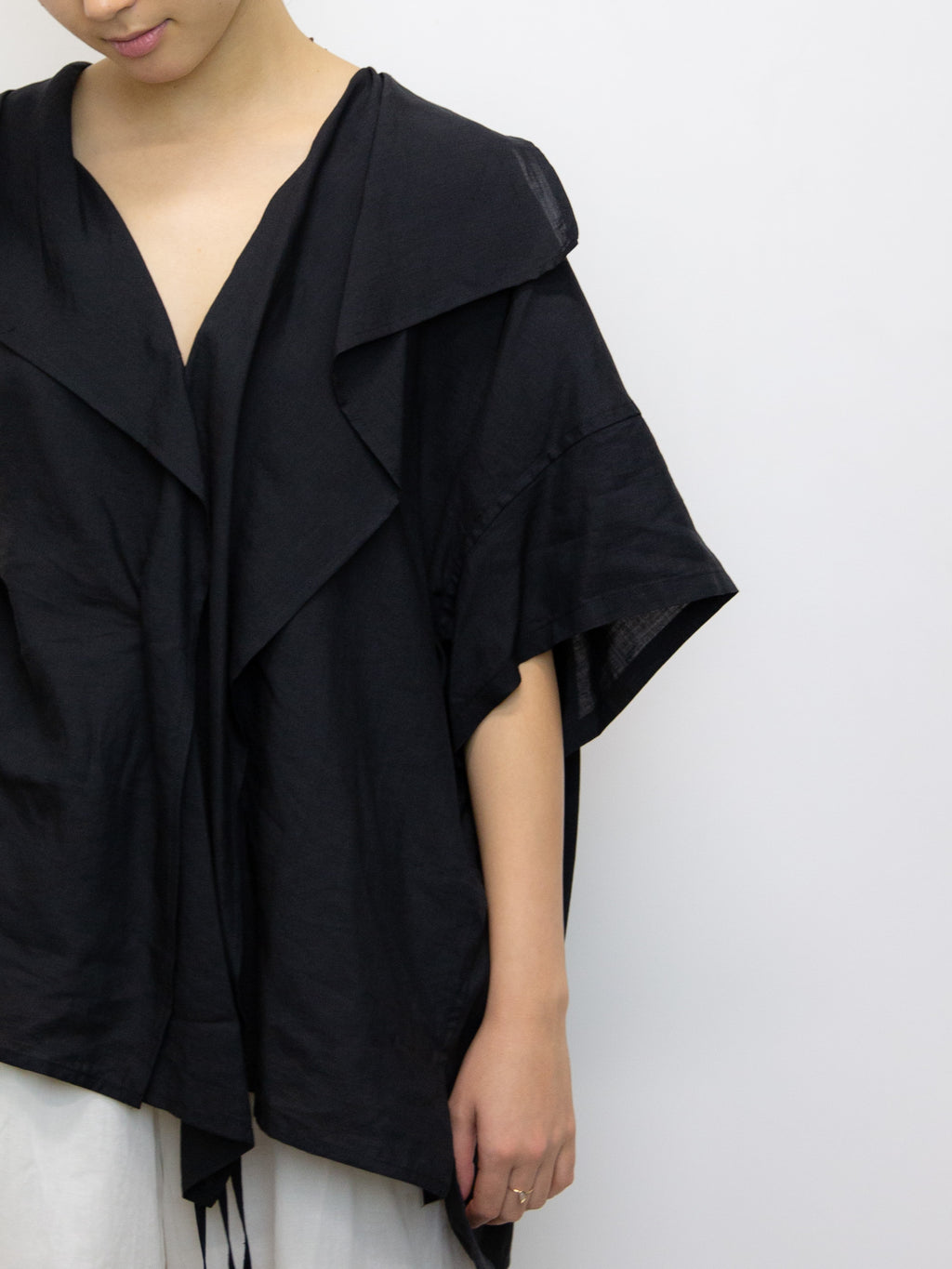Y'S Short Sleeve Haori Shirt