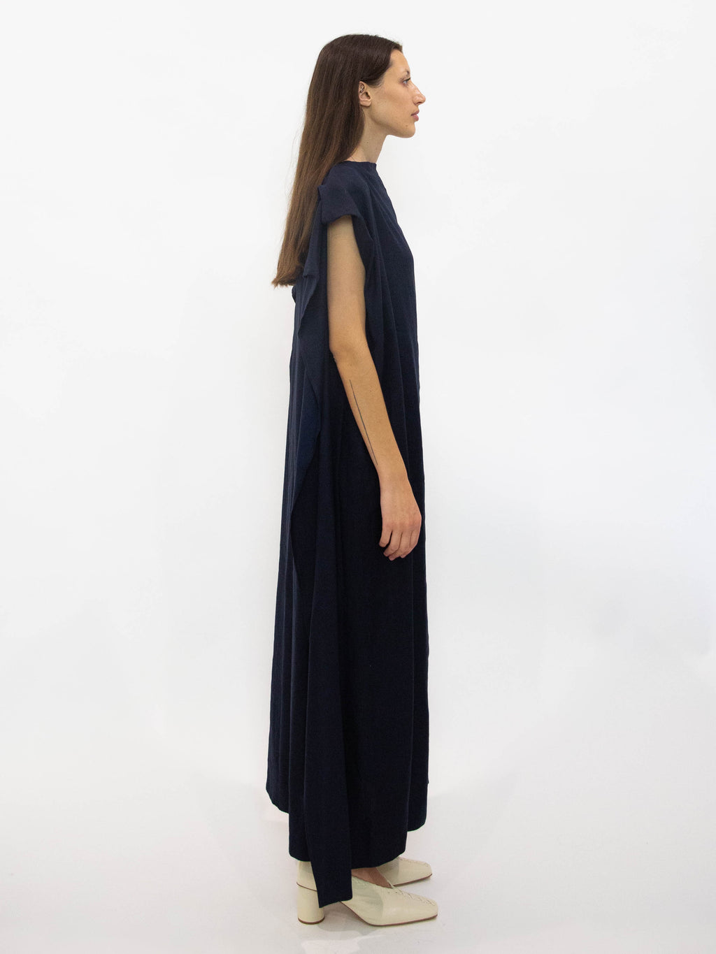 Y's Twill Scarf Dress