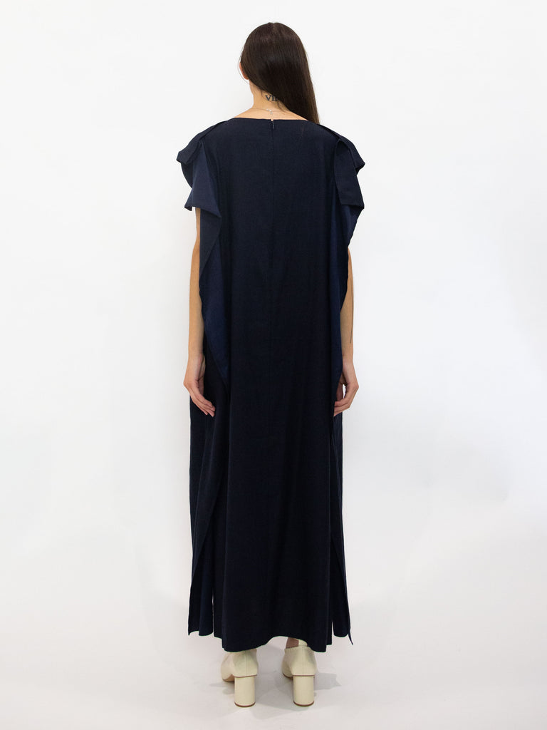 Twill Scarf Dress