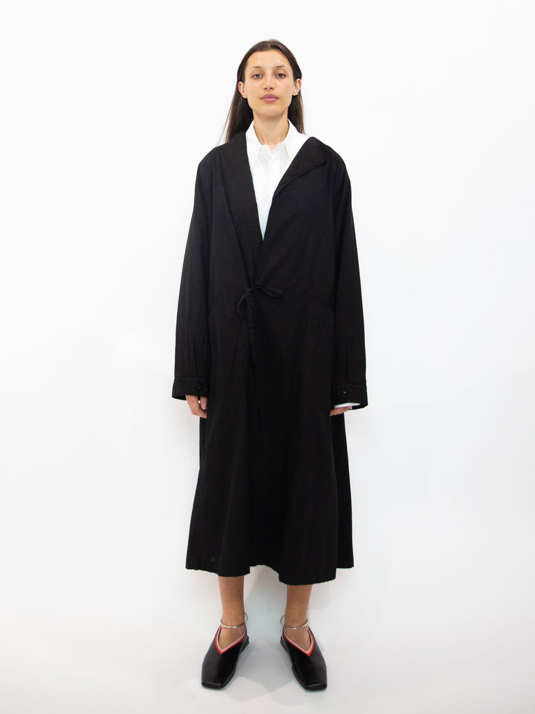 Cotton Linen Gown Coat