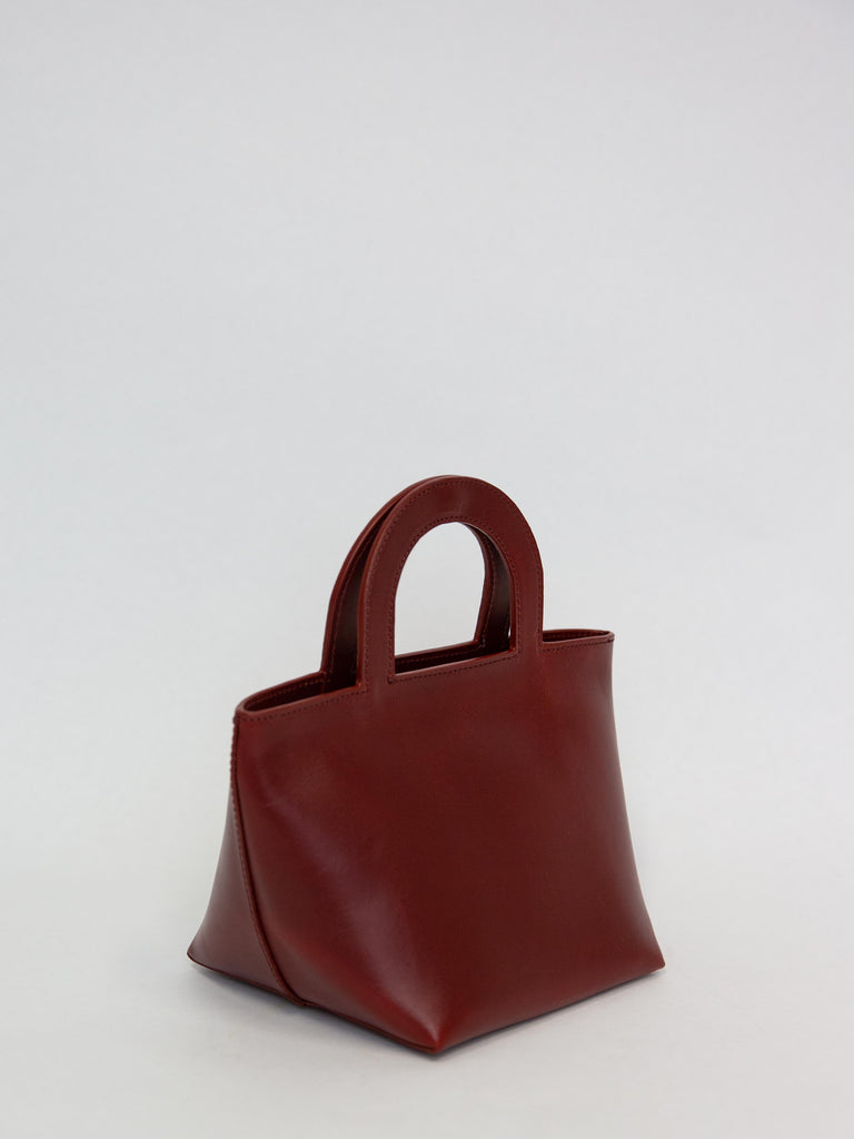 Tiny Stencil Bag - Cognac