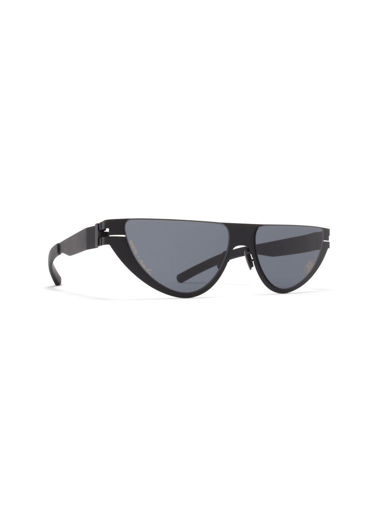 MYKITA + Martine Rose Kitt / Black Sunglasses